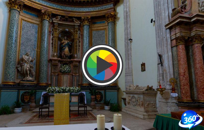 V centenario iglesia Santa María la Mayor